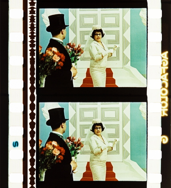 Lea aus dem Süden (1963, Gottfried Kolditz). Photographs of the Agfacolor Safety Print by Barbara Flueckiger