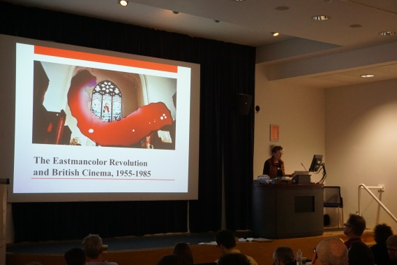 Sarah Street presents research from The Eastmancolor Revolution group at the Third International Colour in Film Conference
