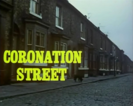 4. Screen grab from the first colour episode of Coronation Street